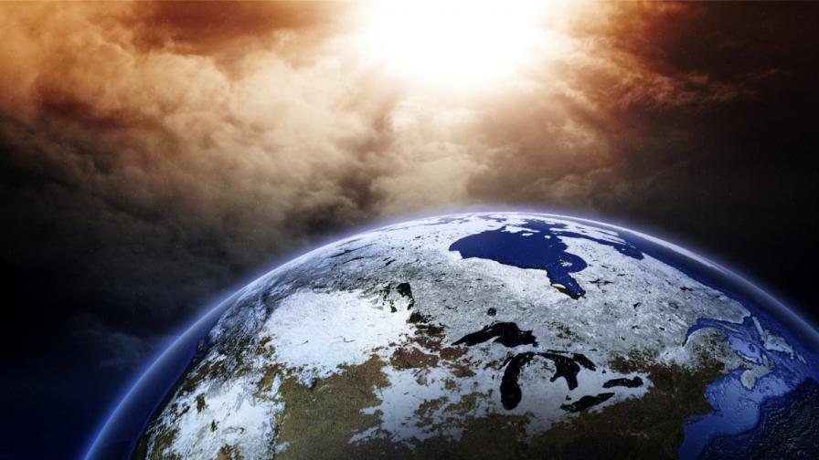 Земята издига плазмен щит срещу слънчевите бури