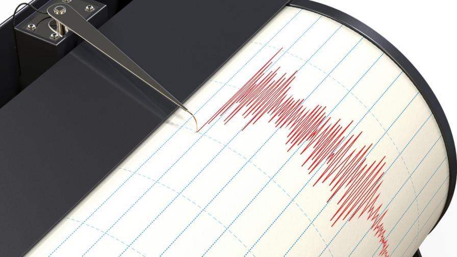Три земетресения бяха регистрирани у нас