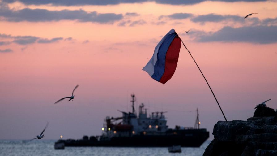 Руски флаг в Севастопол