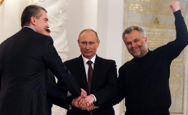 Владимир Путин подписа договора за присъединяването на Крим