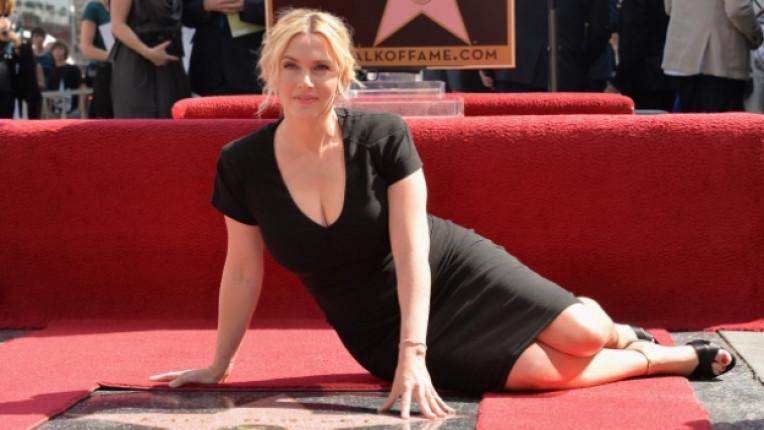 Кейт Уинслет Алея на славата Холивуд Оскар актриса филм признание