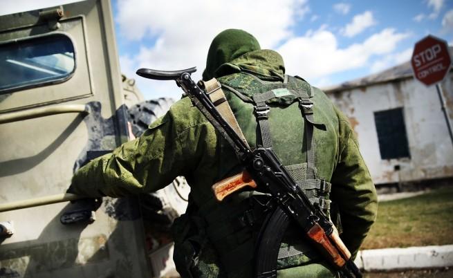 В Крим стреляха по украински военни, има убити