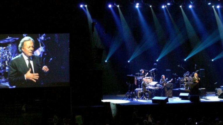 Хулио Иглесиас концерт