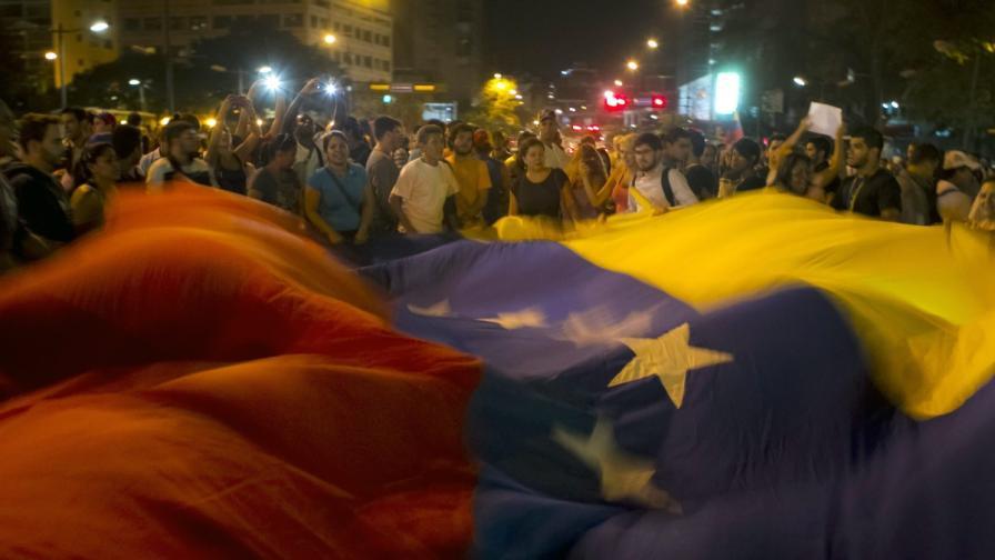 Венецуела: Арест на кмет заради протести на граждани срещу властта