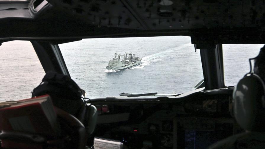 Пулсиращ сигнал бе засечен в южния Индийски океан