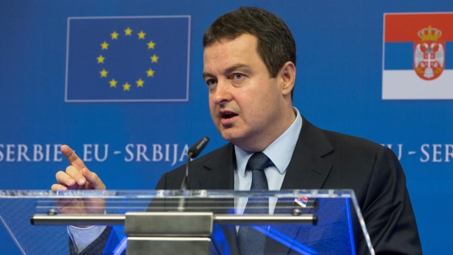 Сръбският премиер Ивица Дачич
