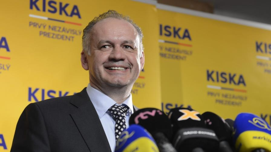 Андрей Киска, новият словашки президент