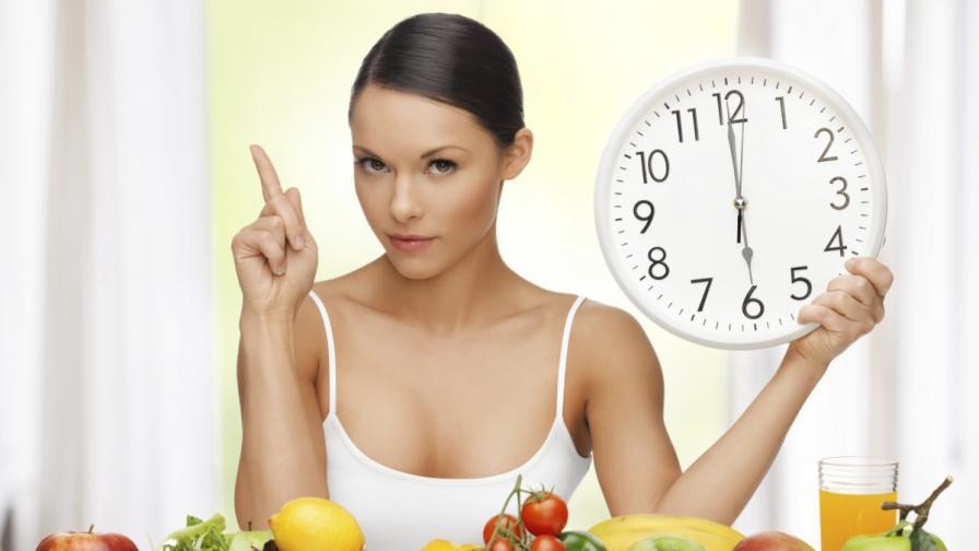 Кога трябва да ядем, за да свалим излишните килограми
