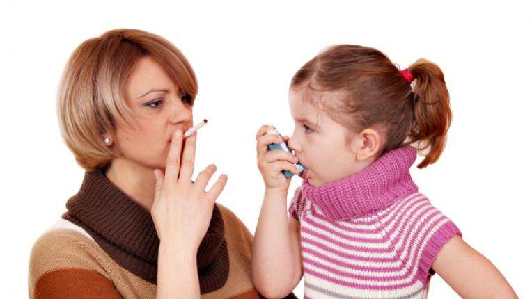 деца цигари тютюнопушене