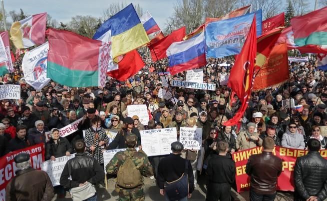 Размирици в Източна Украйна
