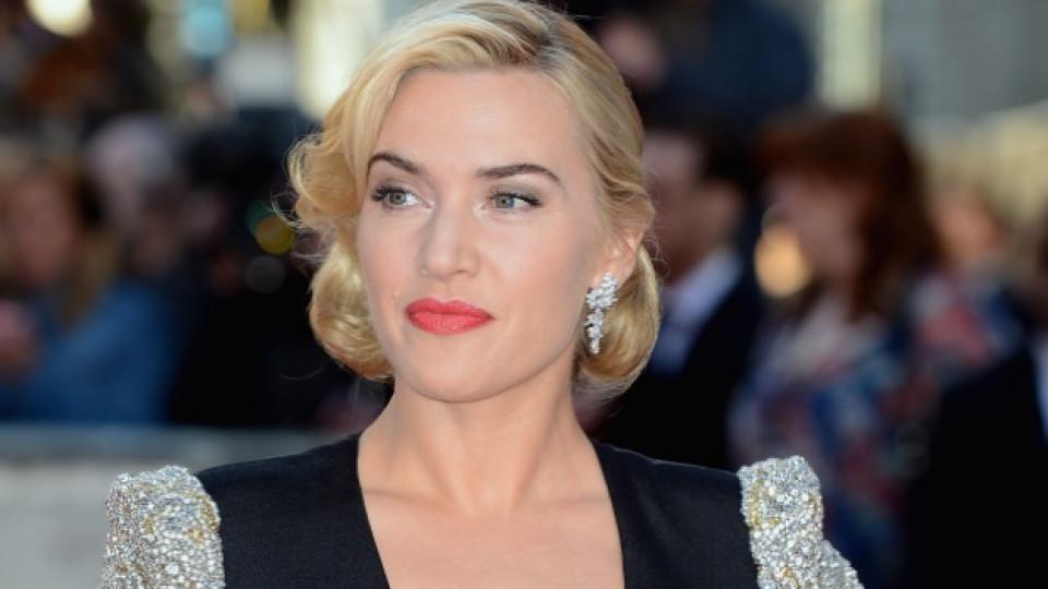 """Кейт Уинслет на премиерата на филма """"Титаник 3D"""" (""""Titanic 3D"""") в Лондон, март 2012 г."""
