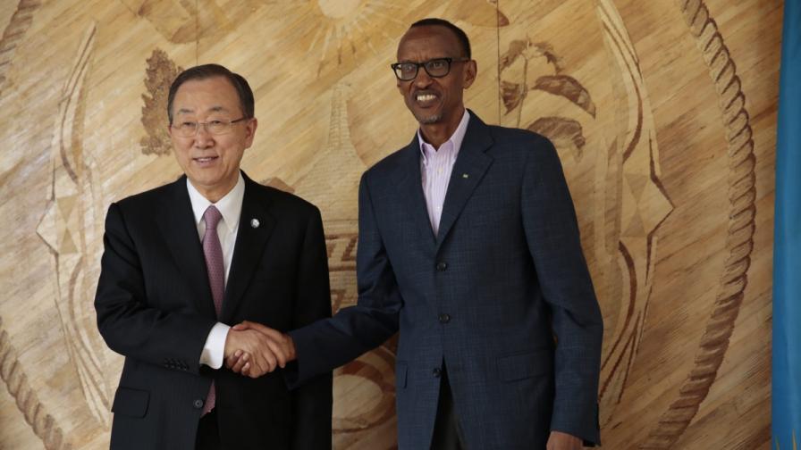 Бан Ки-мун: ООН още се срамува заради гноцида в Руанда