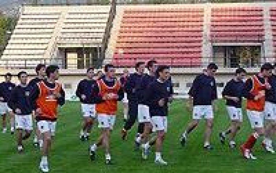 Албания пристига в България без капитана си