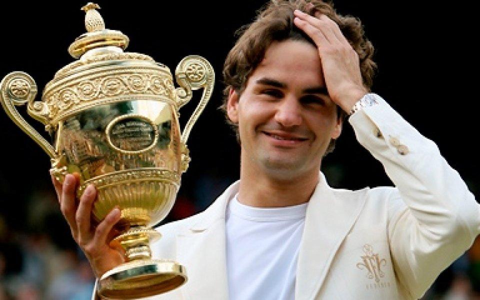 Роджър Федерер разкри как е спечелил Уимбълдън