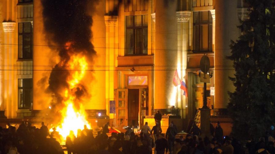 Спецоперация срещу сепаратистите и в Харков