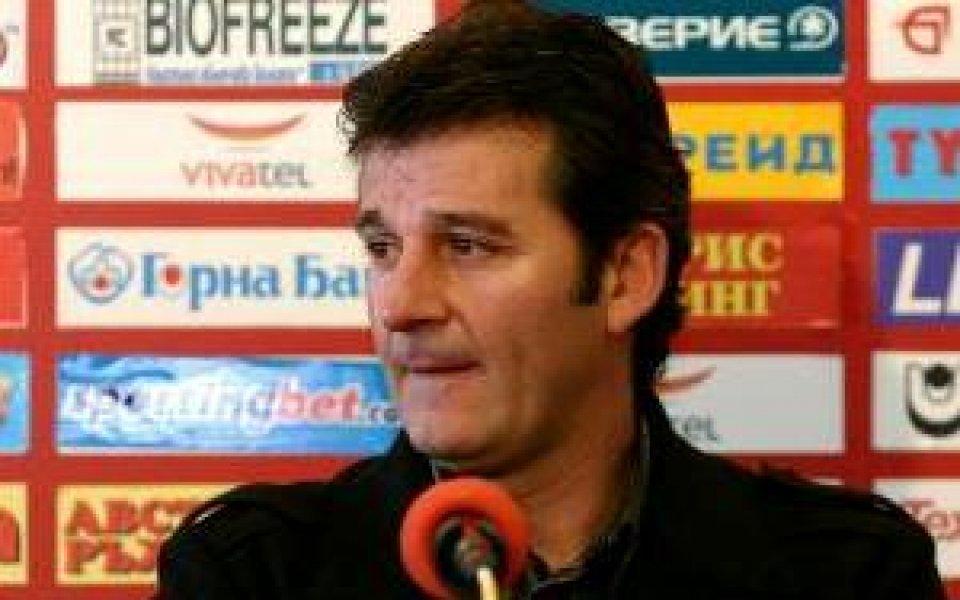 Костадинов: Влизането в групите е важно за бъдещето на ЦСКА