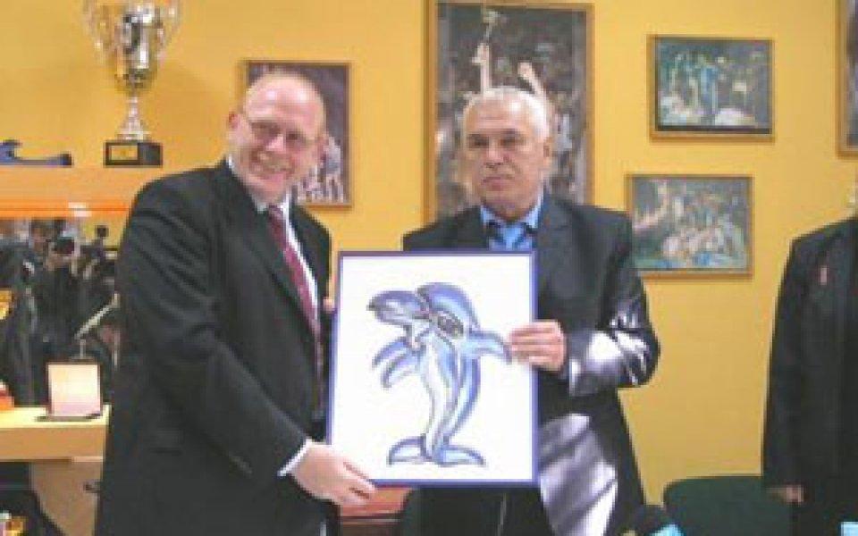 БК Черно море с талисман-делфин
