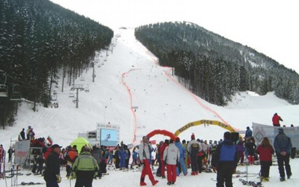 Костелич, Аамод и Жирардели откриха ски сезона в Банско