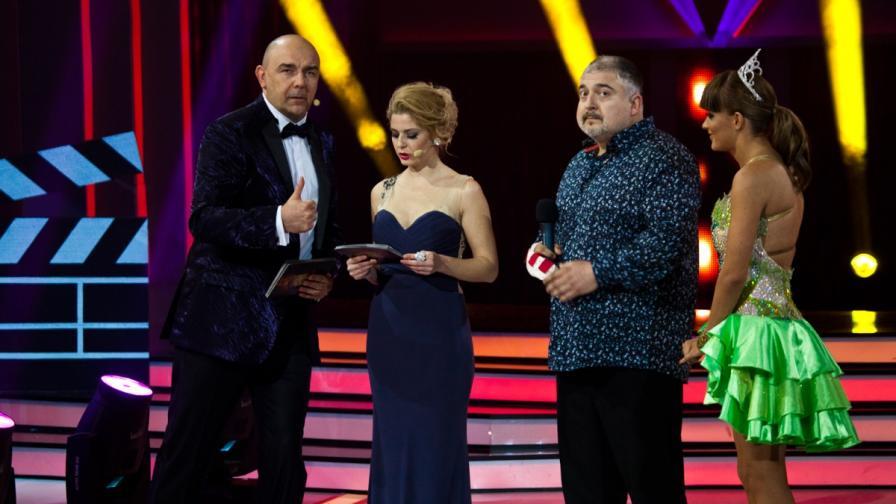 Ути Бъчваров се сбогува със зрителите на Денсинг старс