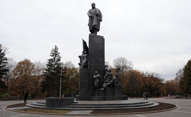 Паметникът на Тарас Шевченко в Харков