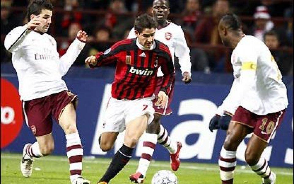 Берлускони: Анчелоти остава, Арсенал бе по-добрият отбор