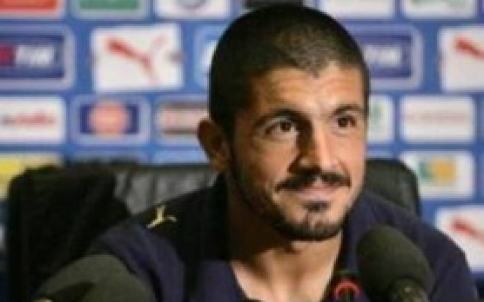 Гатузо: Искам Рома да спечели Калчото