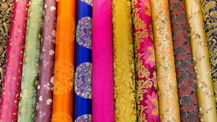 коприна история Китай материя фин дрехи производство