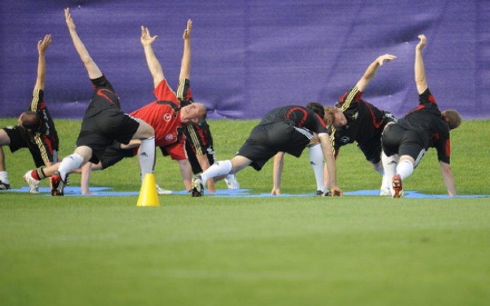 Фрингс се включи в тренировката на тима