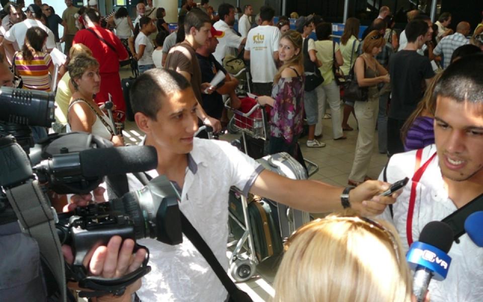 Футболисти-журналисти тръгнаха за Евро 2008