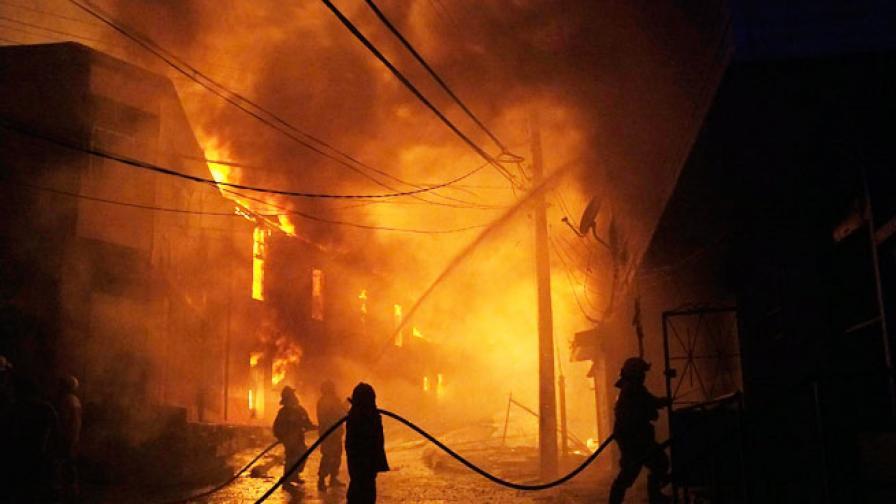 Най-малко 500 изпепелени къщи при огромен пожар в Чили
