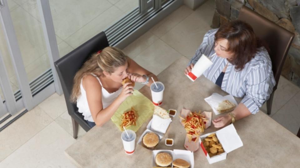 Българските деца страдат от наднормено тегло