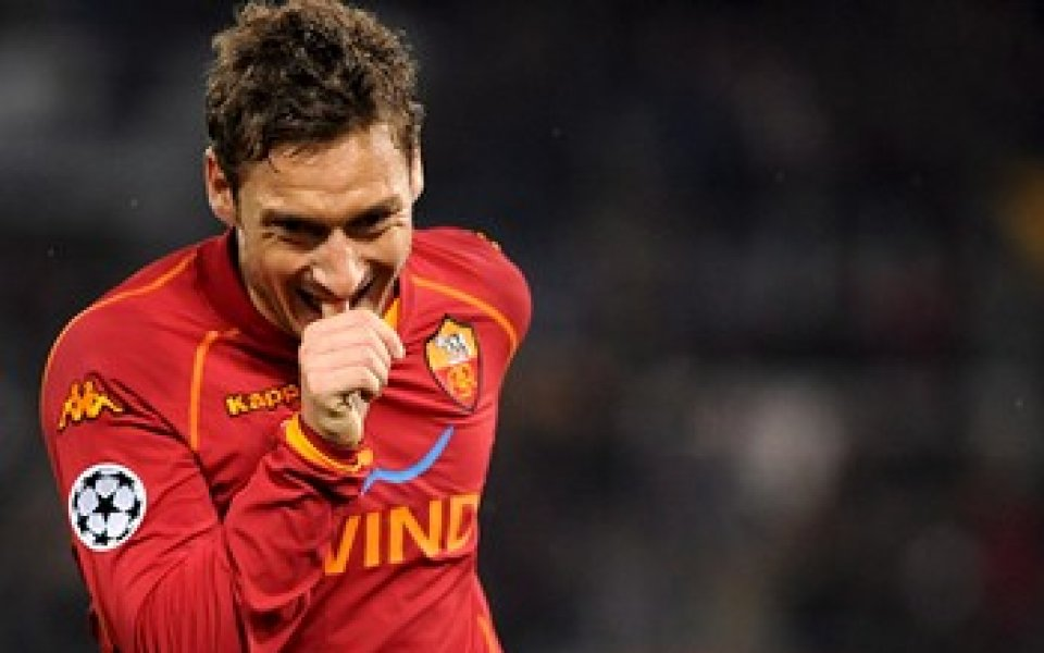 Тоти отново под въпрос за мача с Интер