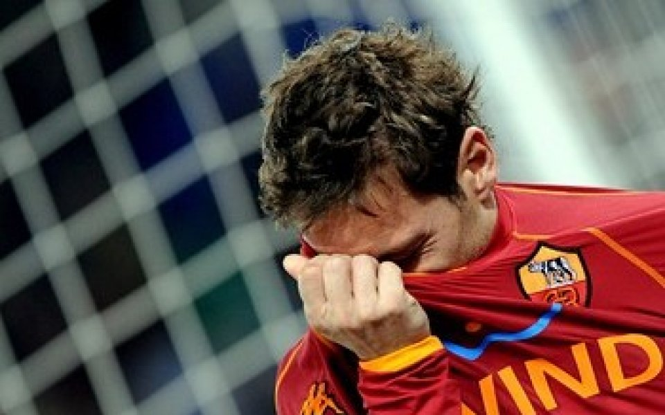 Рома предлага нов договор на Тоти