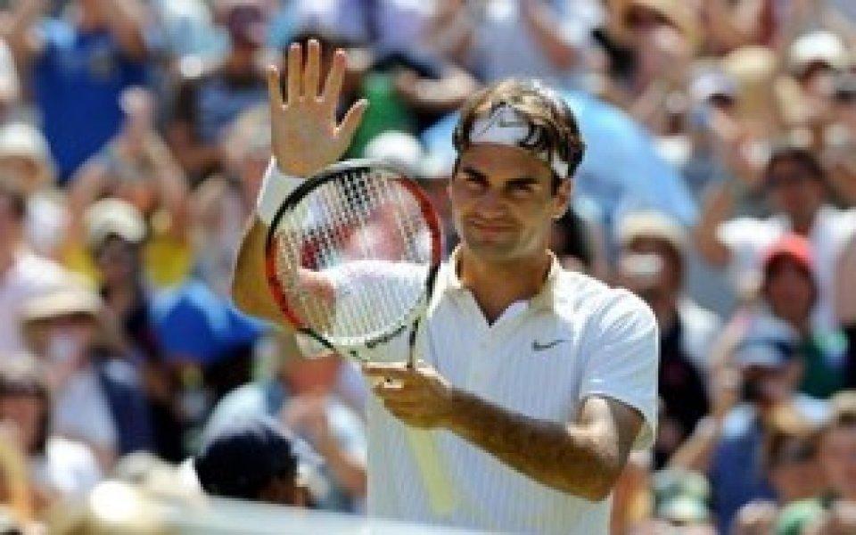 Федерер: Няма да ми е лесно срещу Хаас, готвя се за тежък уикенд
