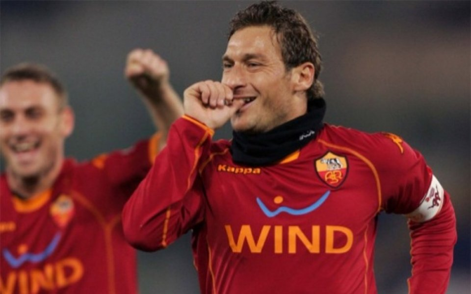 Тоти: Оставам в Рома