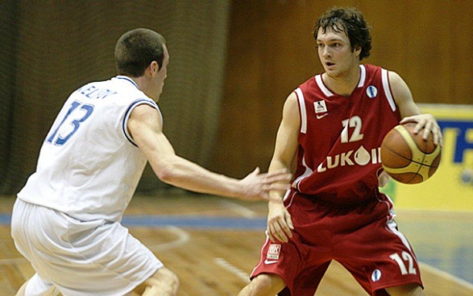 Левски – ЛукОйл още на старта на първенството