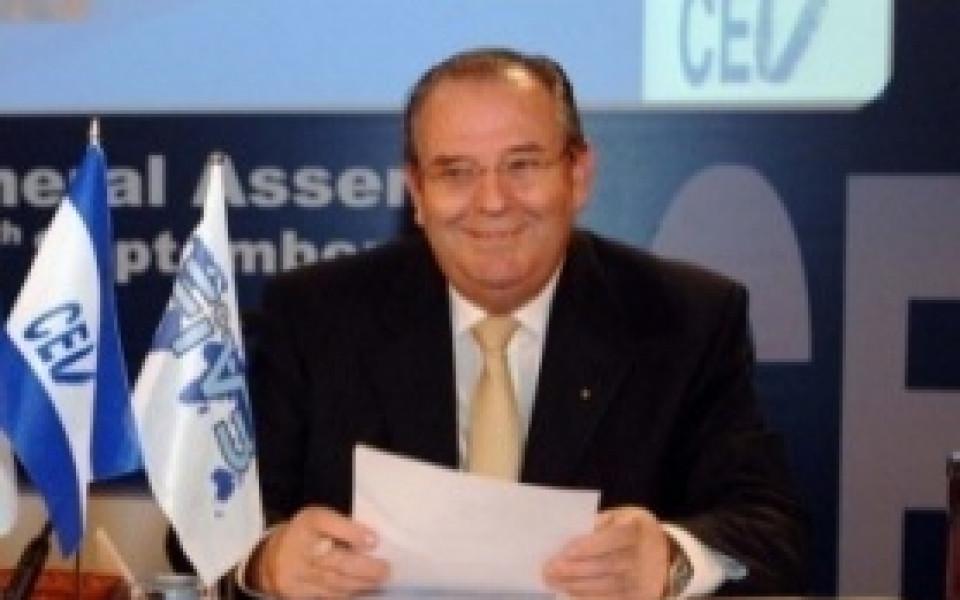 Андре Майер присъства на Общото събрание на БФВолейбол