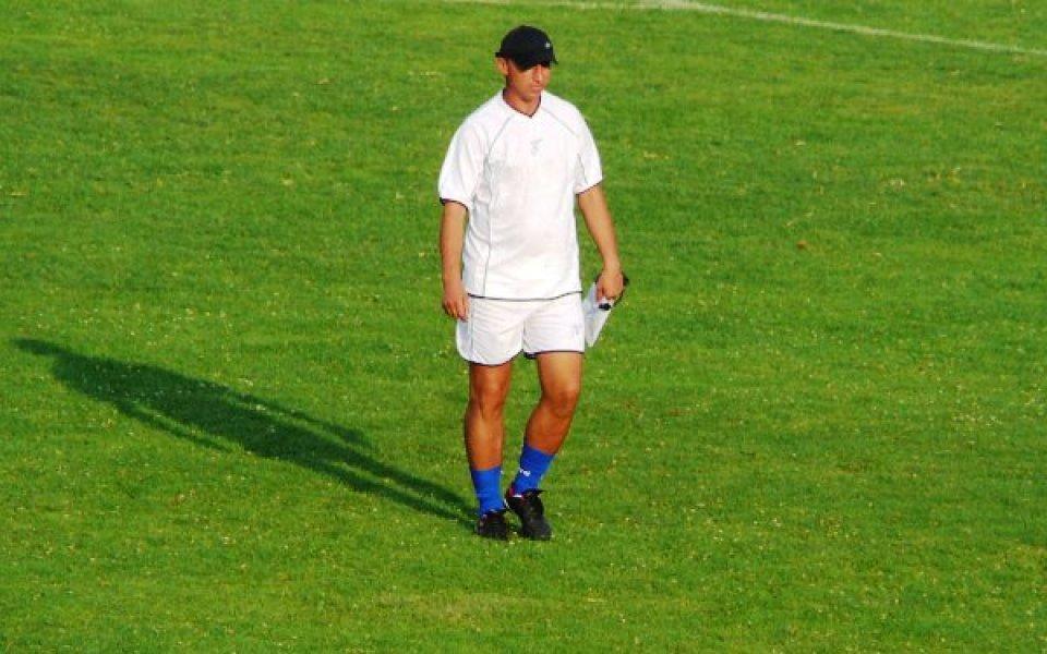 Треньорът на Волов Георги Мирчев излезе в болнични