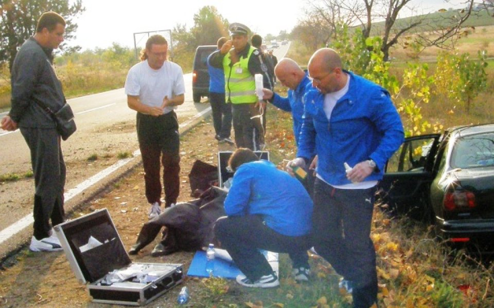Черноморец спаси тежко пострадал в катастрофа