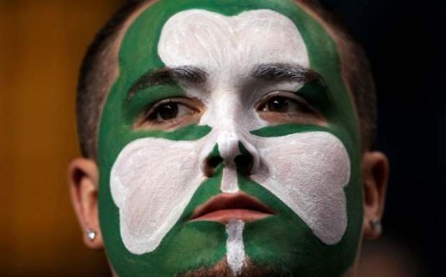Доволен фен на Бостън Селтикс<strong> източник: Reuters</strong>