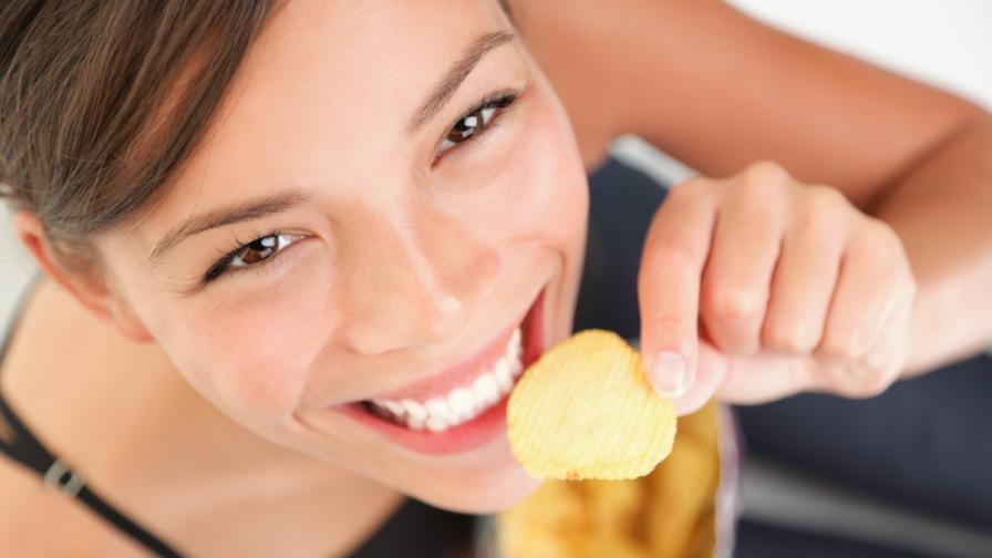 Текстурата на храната влияе върху приема на калории