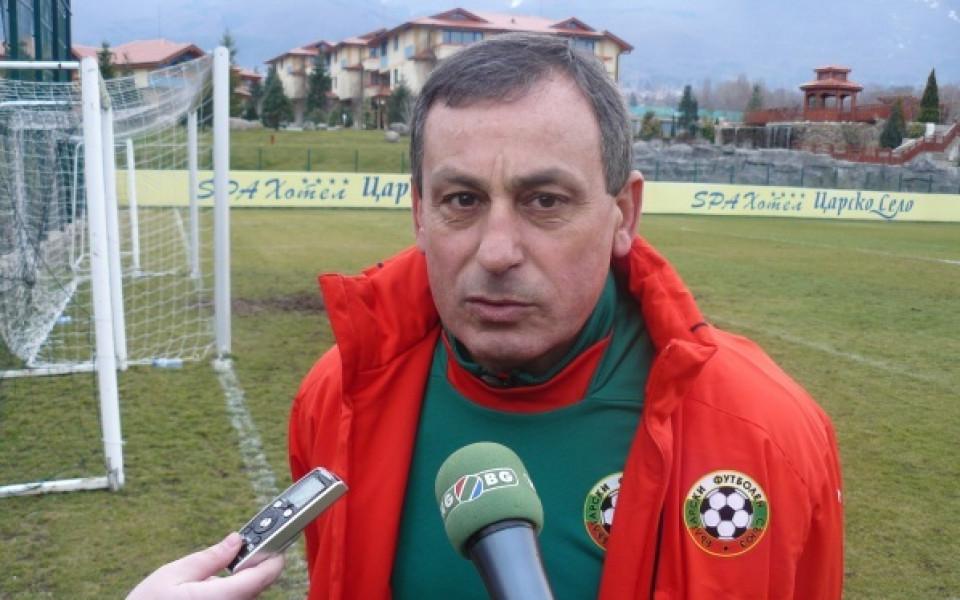 Мадански обяви групата за мача с Швеция
