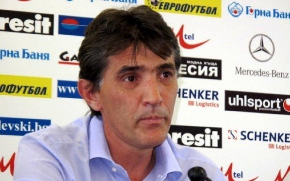 Левски преговаря с бившия си старши треньор Ратко Достанич да