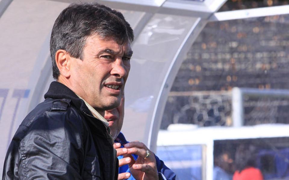 Димитър Тодоров: Няма да се откажем, трябват ни по-качествени футболисти