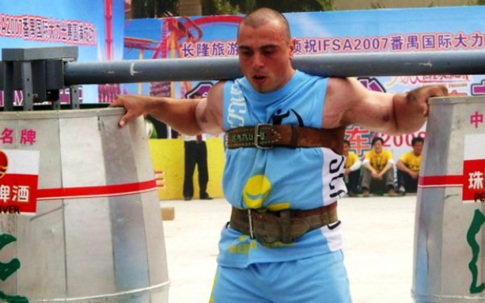 Историческо: България с представител на Arnold Amateur Strongman World Championships