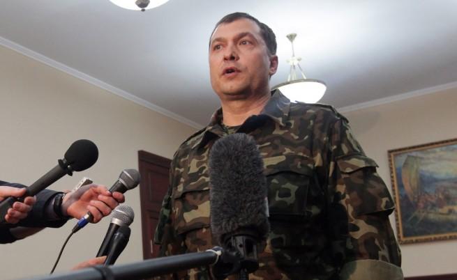 Народният губернатор на Луганск Валерий Болотов