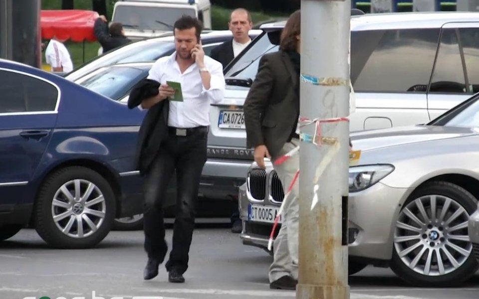 ВИДЕО: Тежката артилерия от VIP зоната на ЦСКА - Славия