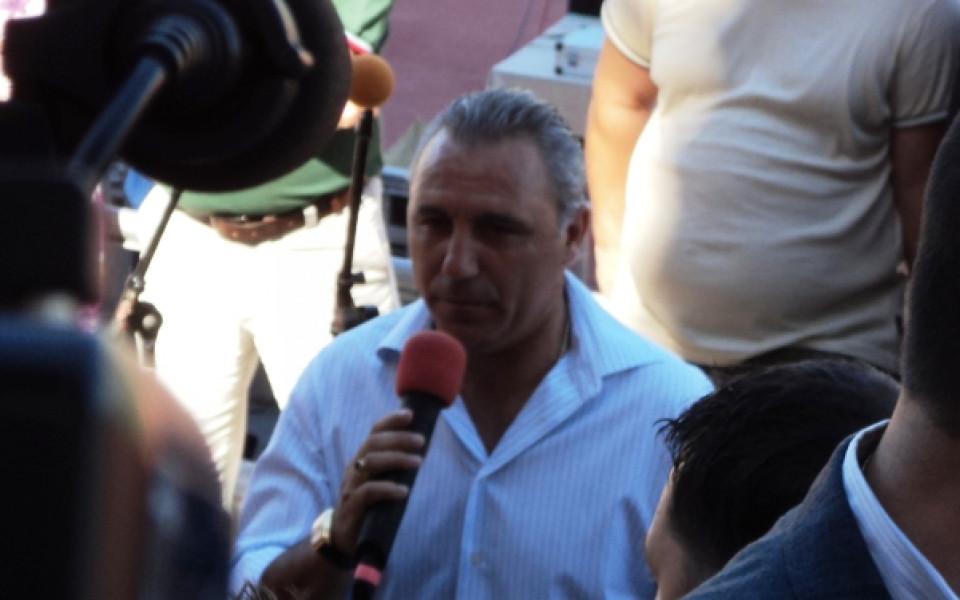 Стоичков пред Дарик: Пловдив ще има уникален стадион, сегашният е руина