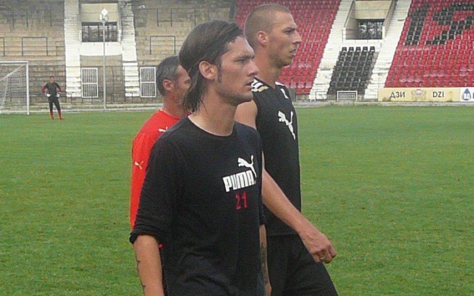 Байкал в групата на Локо Сф срещу ЦСКА