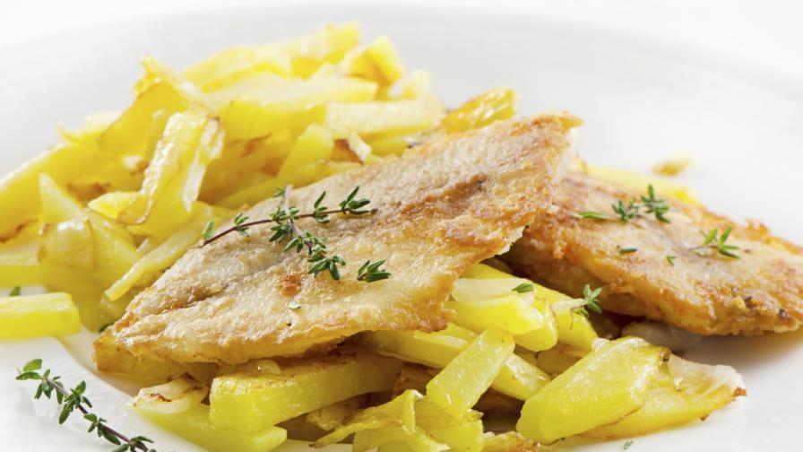 Тайната за дълголетие – риба и пържени картофи?